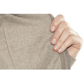 Prana Ari Zip Up Fleece Jacket Women Earth Grey